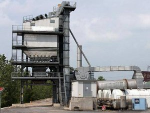 asphalt batch mix plant L7500