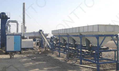ASPHALT DRUM MIX PLANT-dhb40