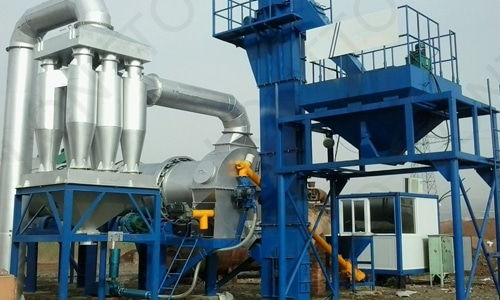 ASPHALT DRUM MIX PLANT-dhb80