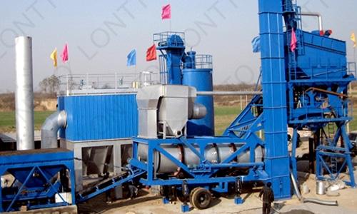 Planta mezcladora de asfalto móvil-MLB1500