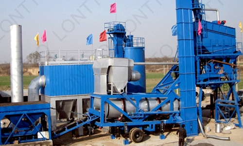 mobile asphalt mixing plant-MLB1500