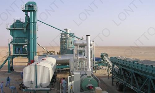 Planta mezcladora de asfalto móvil-MLB700